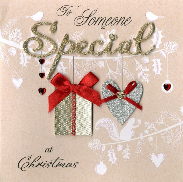 Boxed To Someone Special Luxury Handmade 3D Christmas Card ...