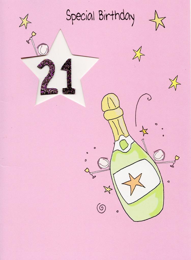 Happy 21st Birthday Animated Graphics