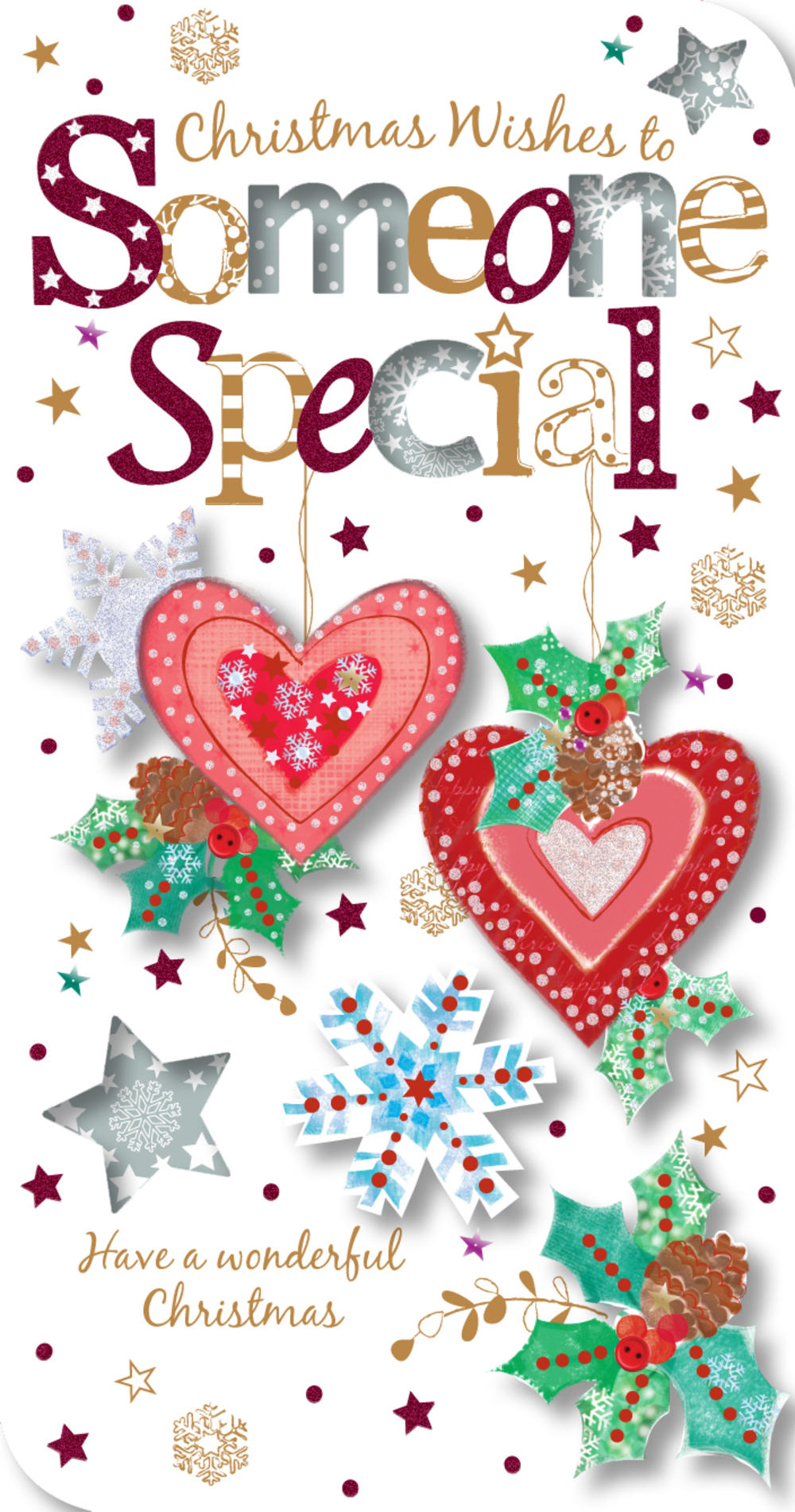 Someone Special Christmas Greeting Card Cards