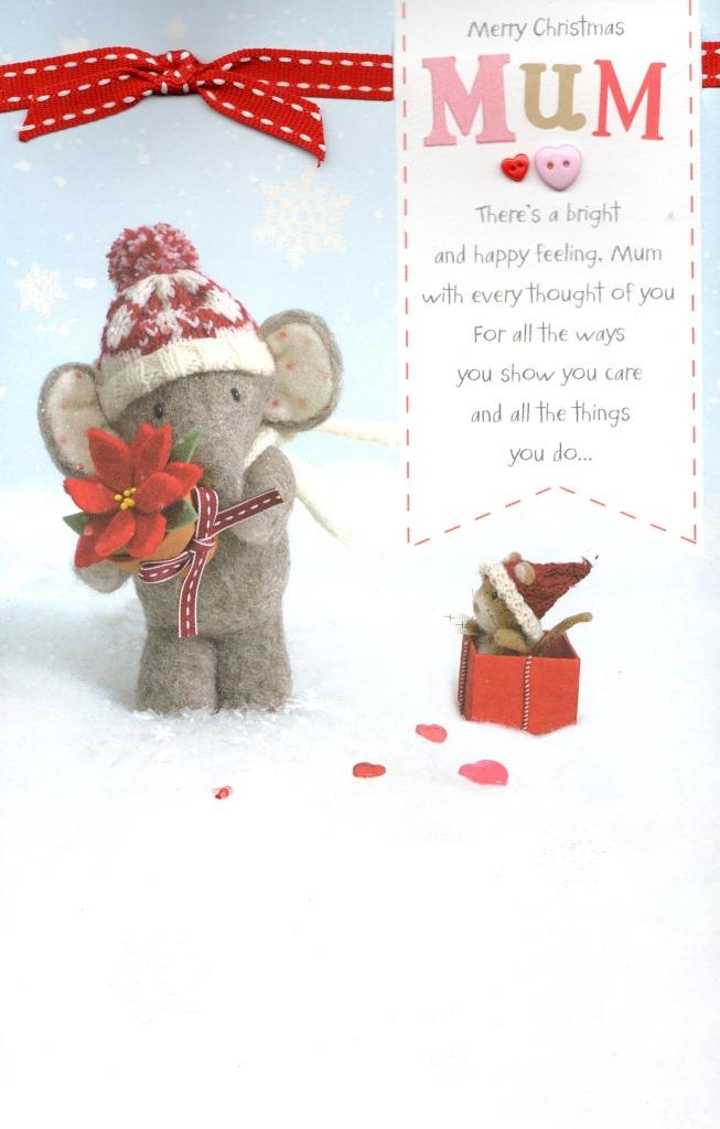 Mum Elliot Amp Buttons Christmas Greeting Card Cards