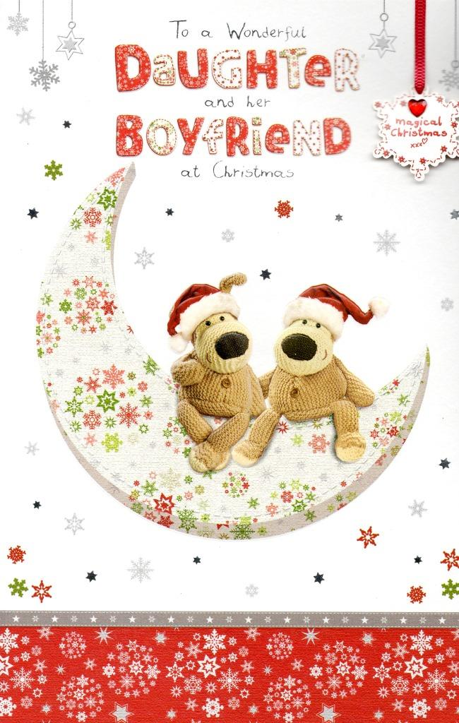 Boofle Daughter Amp Her Boyfriend Christmas Greeting Card