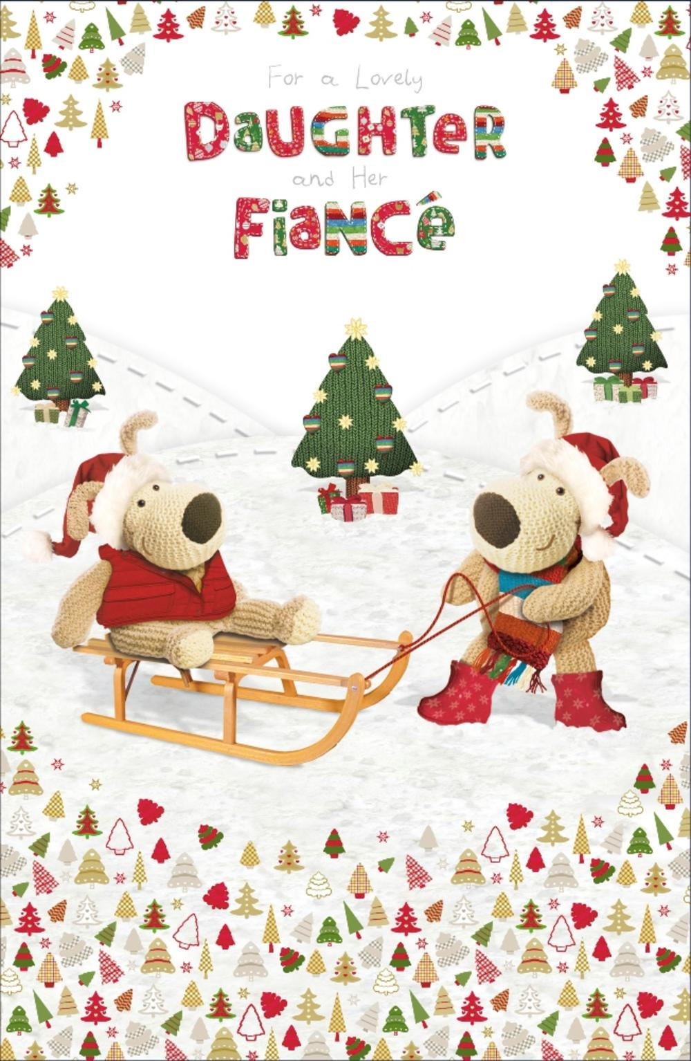 Boofle Daughter Amp Fiance Christmas Greeting Card Cards