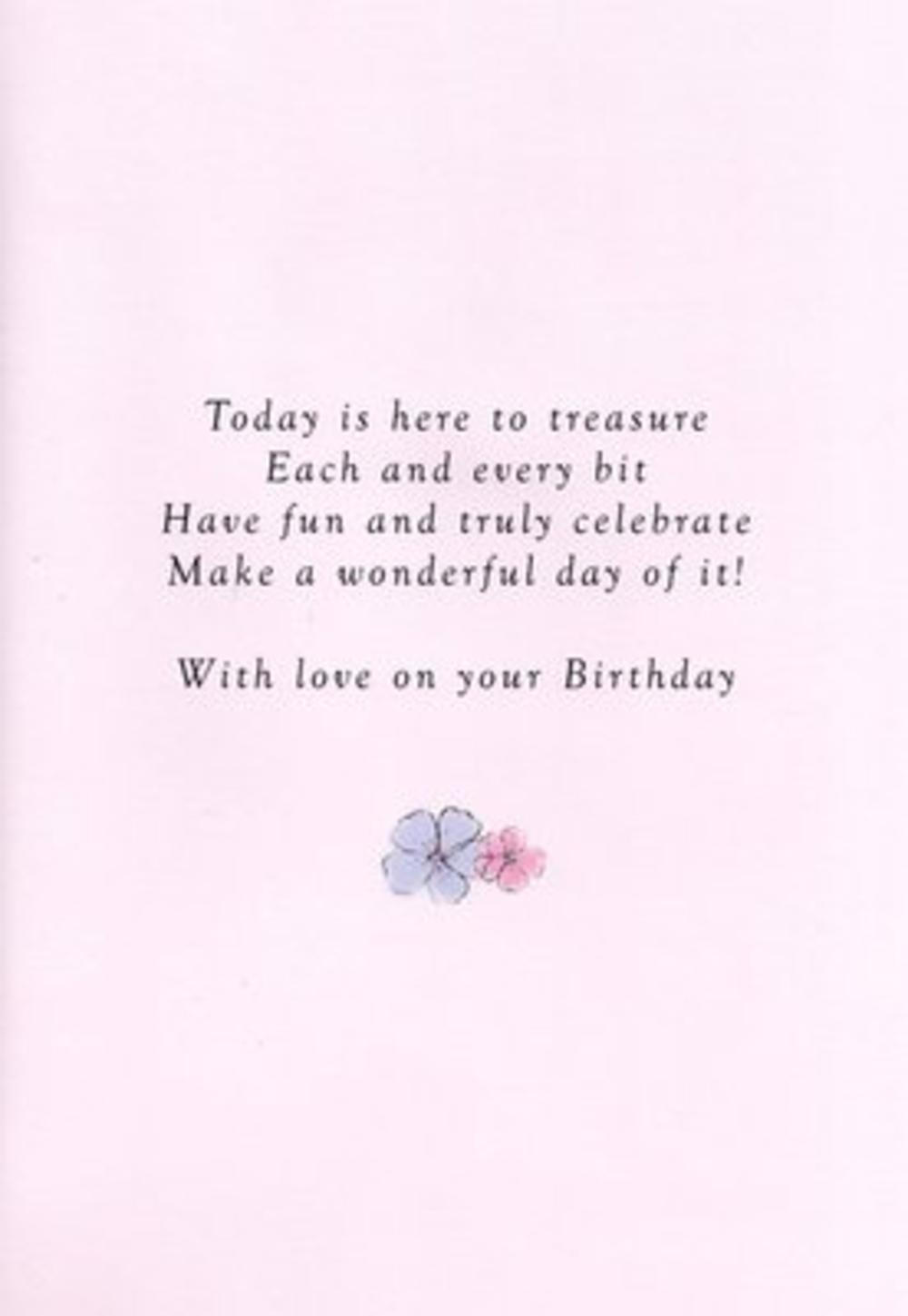 Mum Birthday Poetry In Motion Card Cards Love Kates