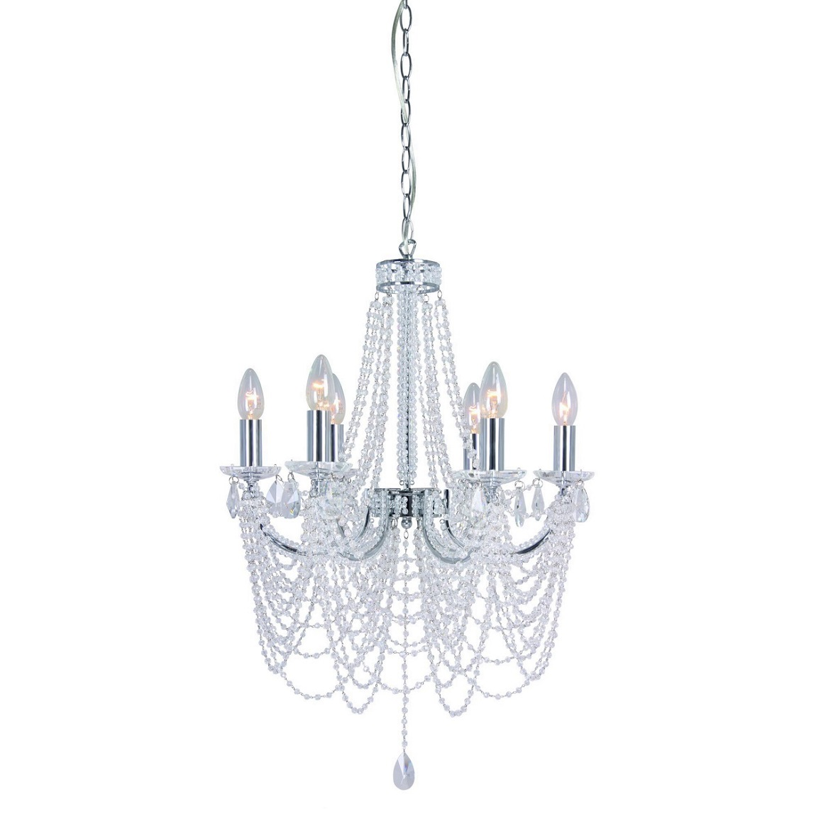 Debenhams Home Collection Evelyn Chandelier Ceiling Light