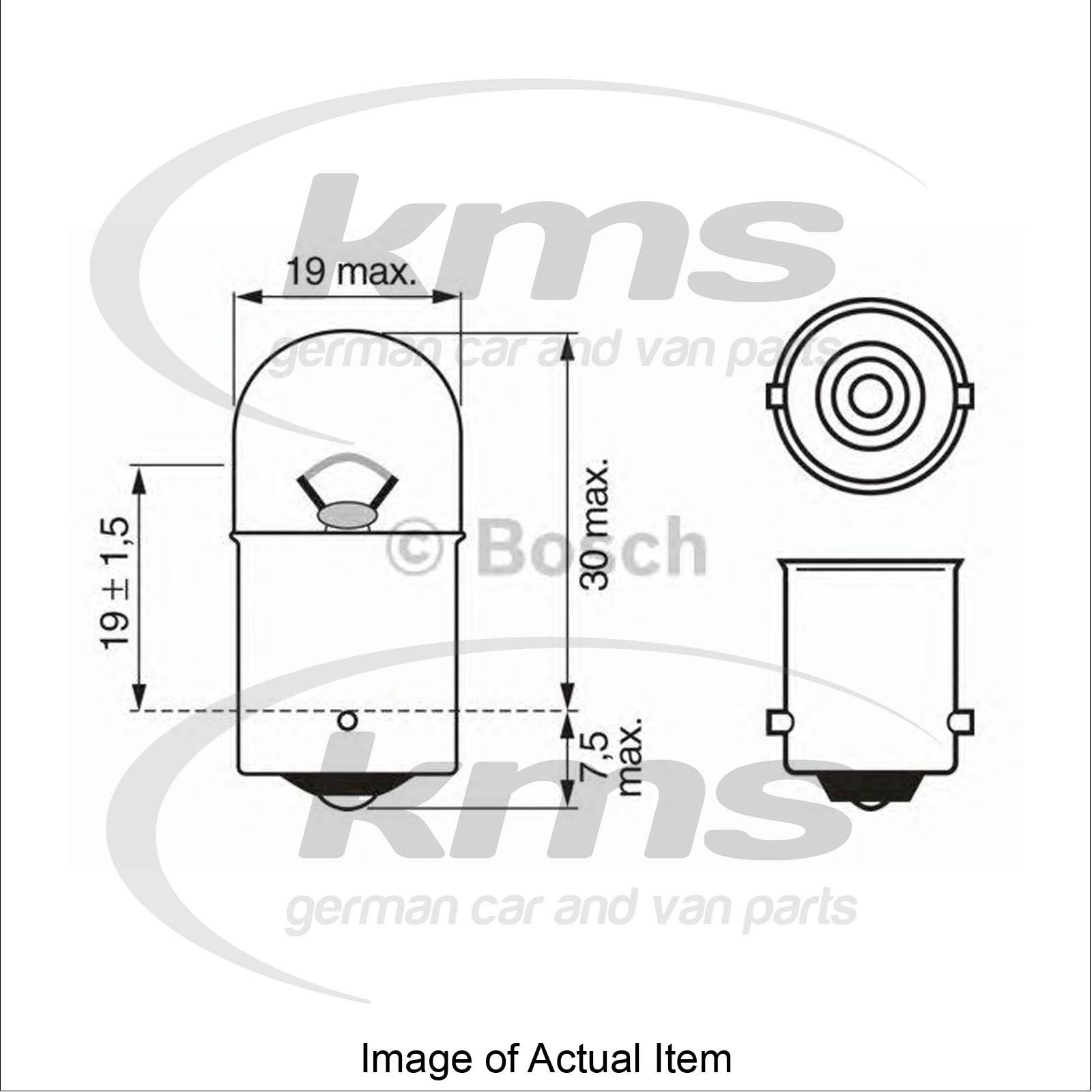 Bulb For Licence Plate Light Mercedes Sprinter 2 T Box