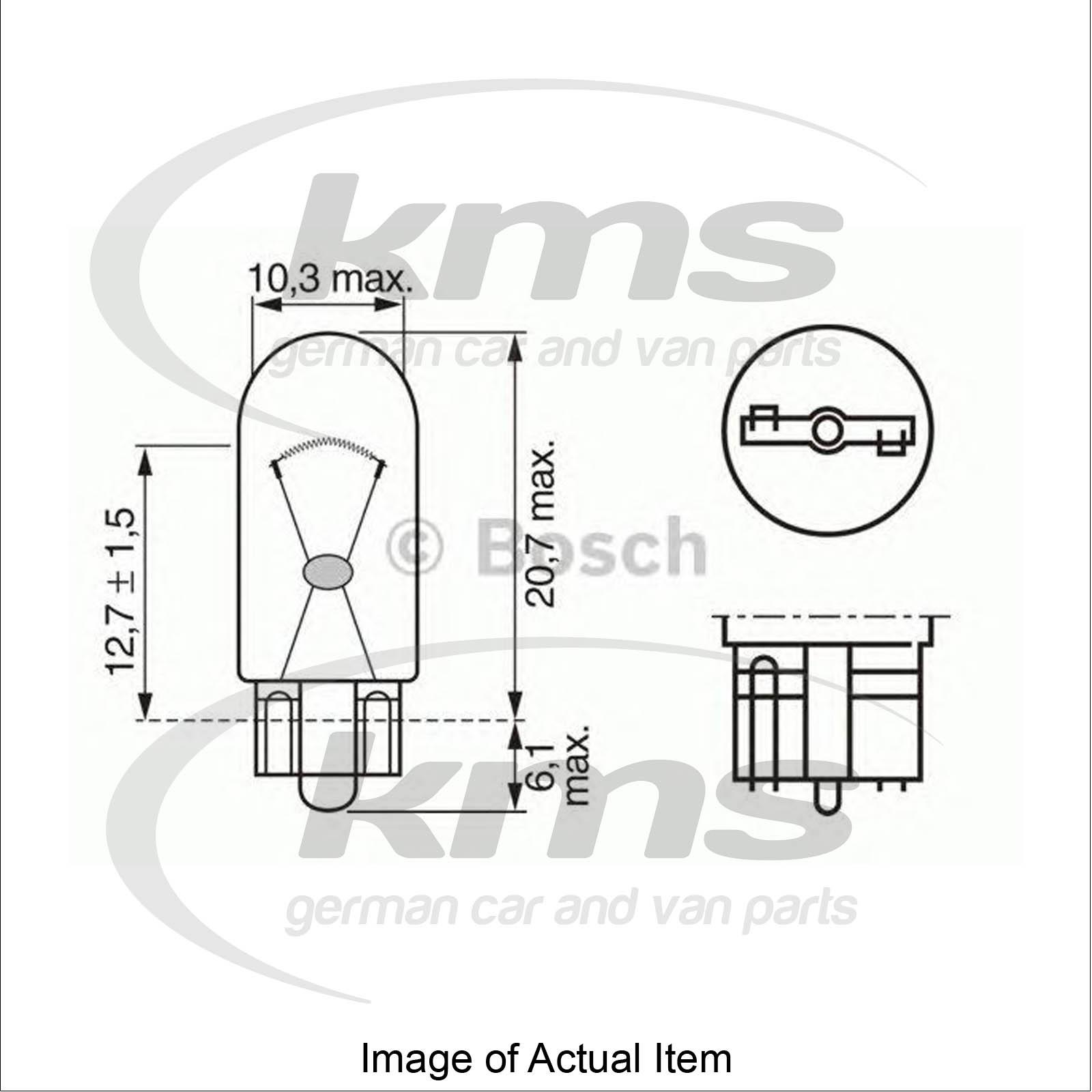 Bulb For Parking Position Light Vw Golf Mk Iii 1h1 1 9 D Hatchback 65 Bhp Top