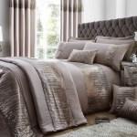 Antionette Embelished Sequin Luxury Bedding Duvet Sets 3 Colours Ebay
