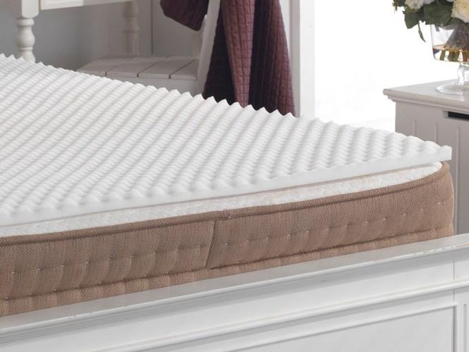 Back Support Pain Relief Egg Box Foam Mattress