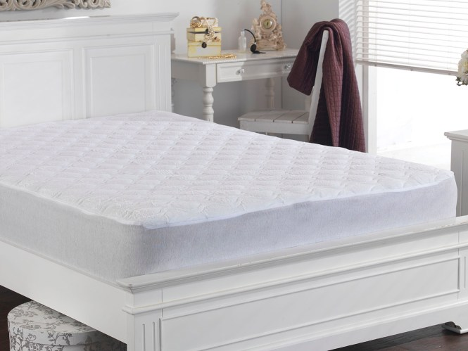 Deep Quilted Terry Towelling Mattress Protector Thumbnail 2