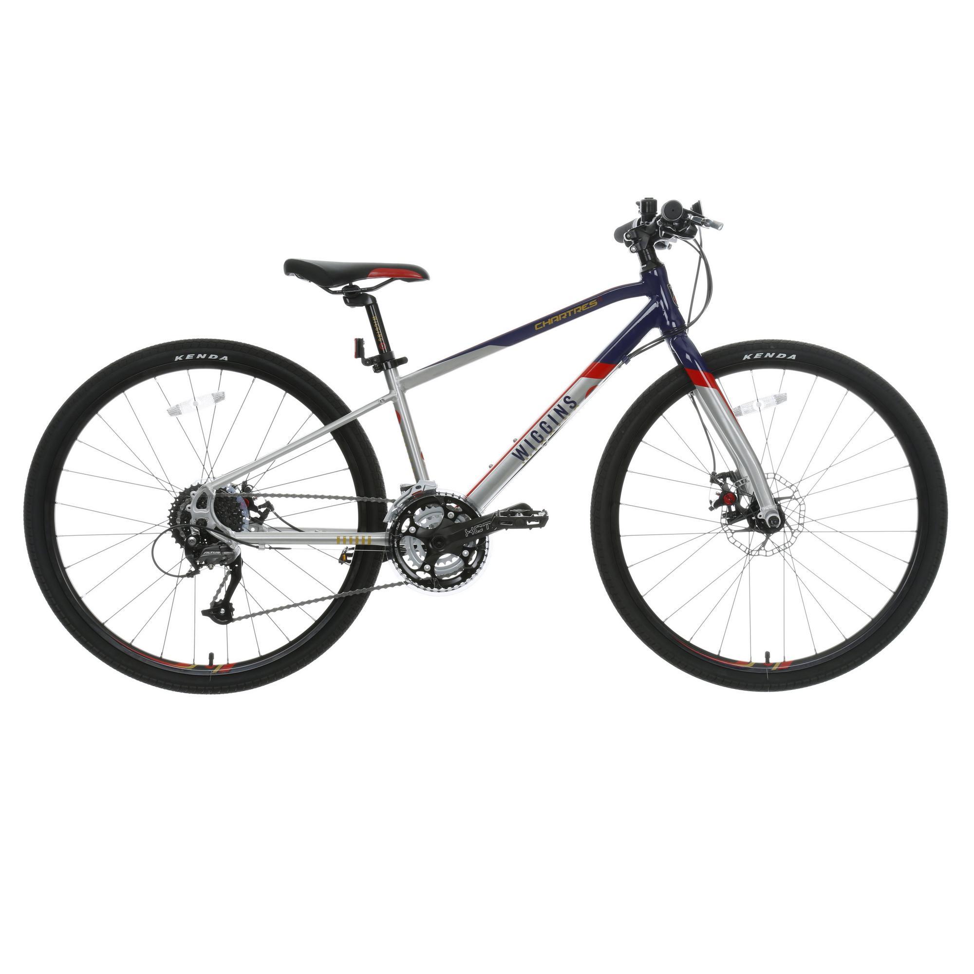 Wiggins Chartres Boys Girls Hybrid Bike Bicycle 27 Shimano