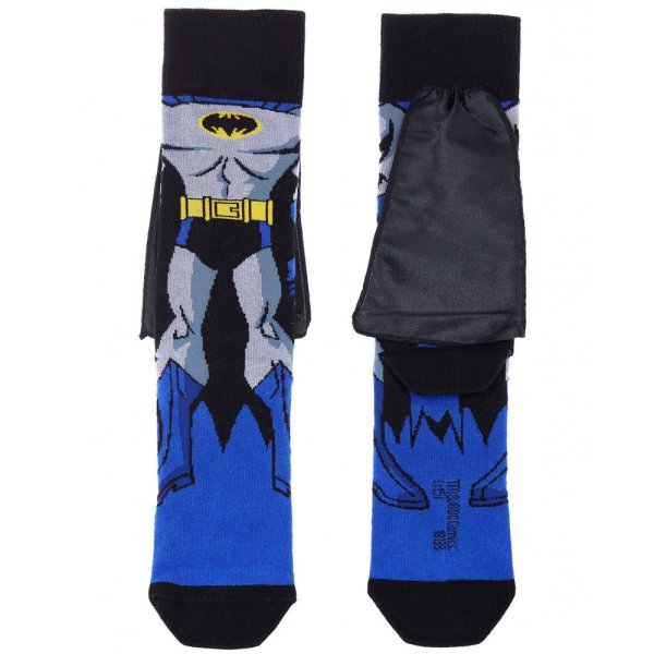 Branded Socks Mens Multicolour Batman Cape One Pair Socks ...