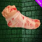 Details About Halloween Fake Severed Bloody Realistic Foot Decoration Prop Gory Secret Santa