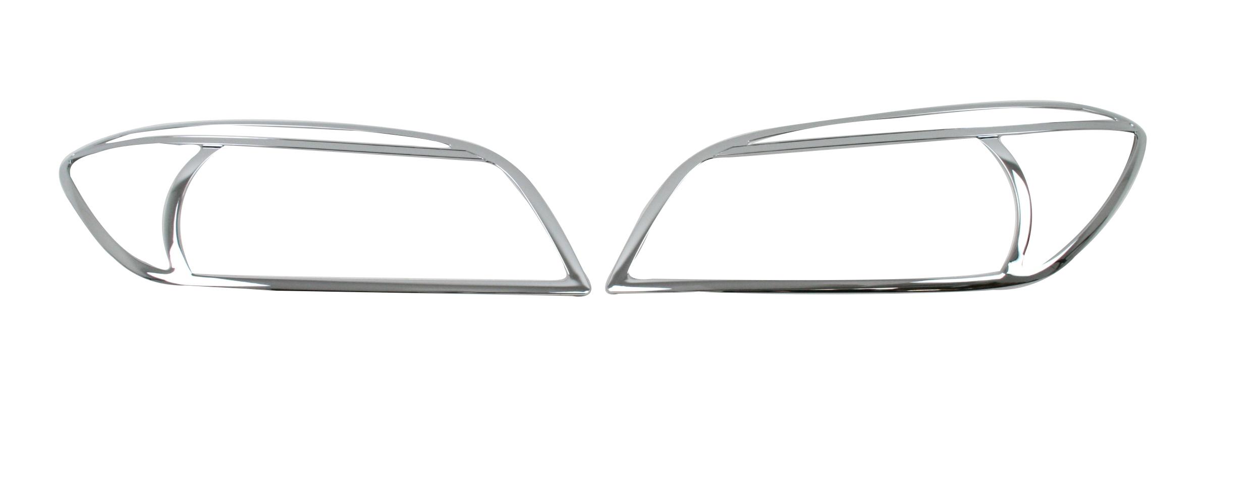 Toyota Rav4 Chrome Headlight Surrounds Head Lamp
