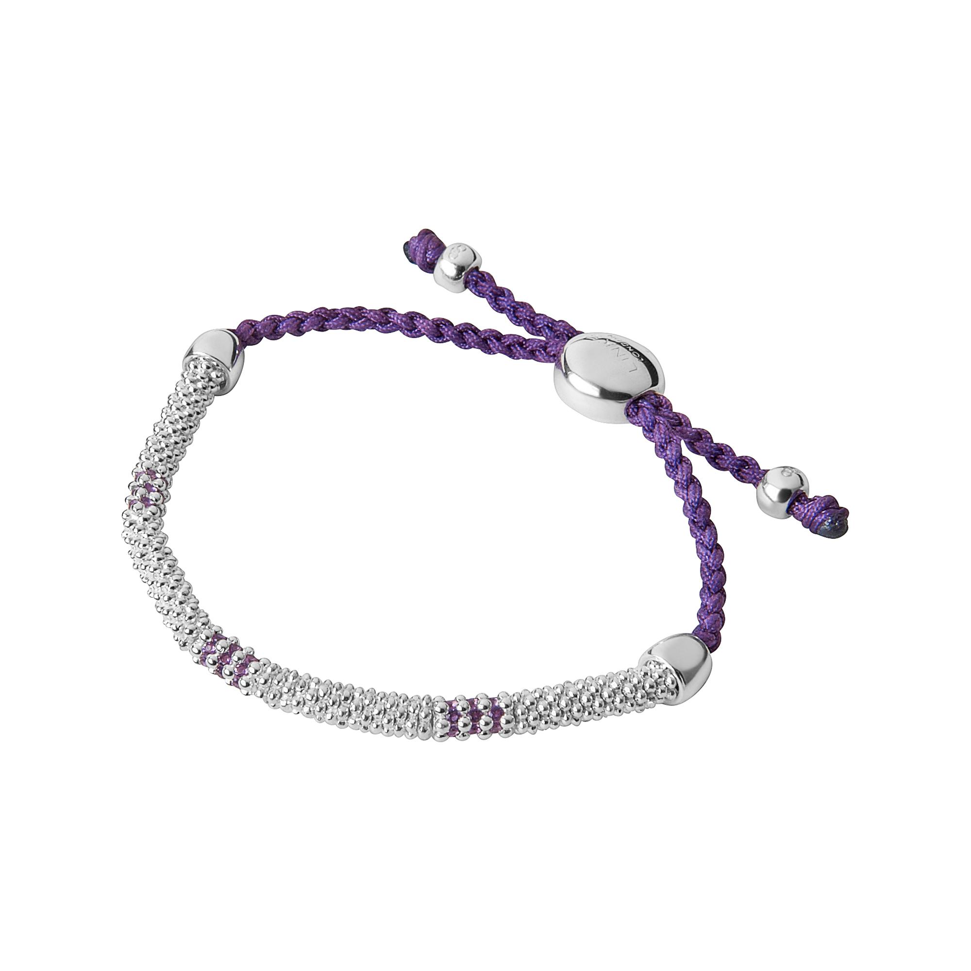 Links Of London Womens Effervescence Xs Purple Amp Amethyst