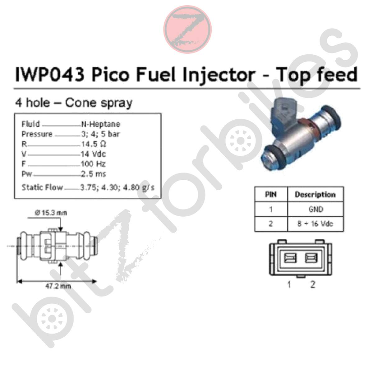Fuel Injector Ducati Monster 900 S Ie Special