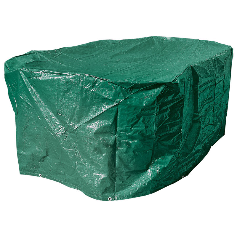Draper Large Oval Patio Set Winter Cover for Garden ... on Patio Cover Ideas For Winter id=59617