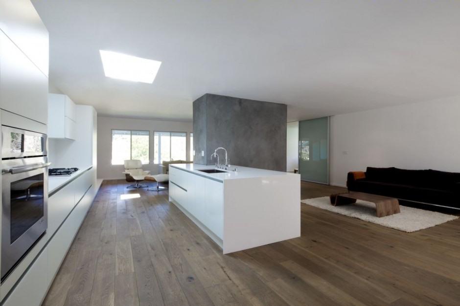 Casa moderna minimalista en California   Interiores ... on Interiores De Casas Modernas  id=12206
