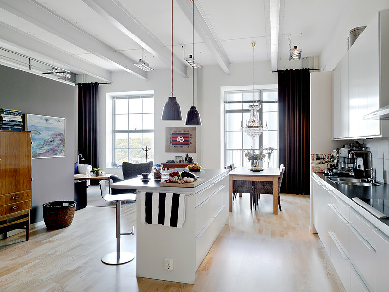 Departamento de 3 ambientes estilo loft for Decoracion de interiores de departamentos 3 ambientes