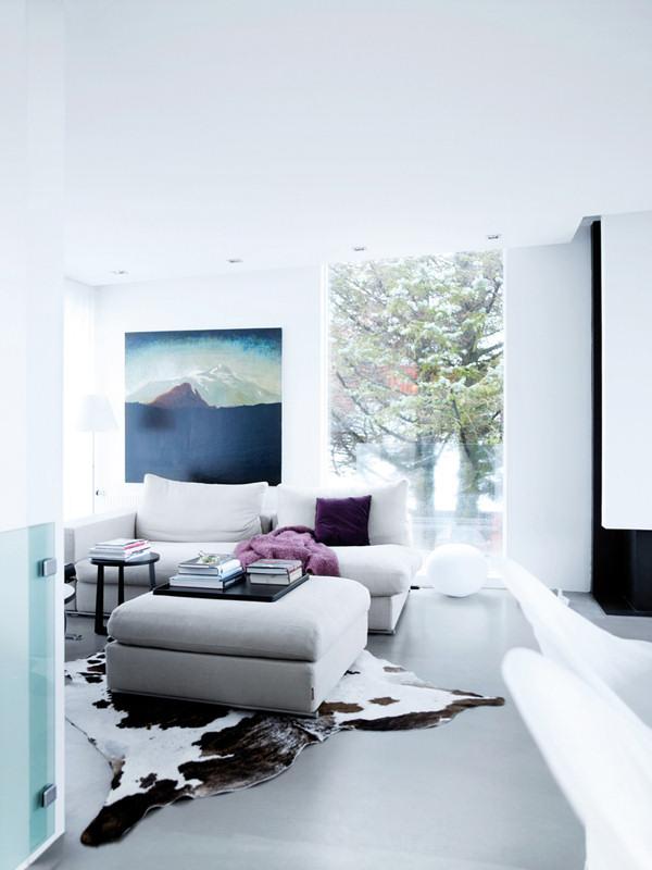 Dise o de interiores de casas modernas un hogar en reykjavik for Diseno de interiores para hogar