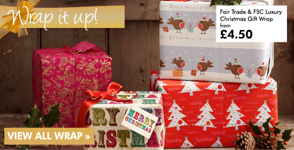 Wrap it up - stock up on eco friendly christmas wrap today