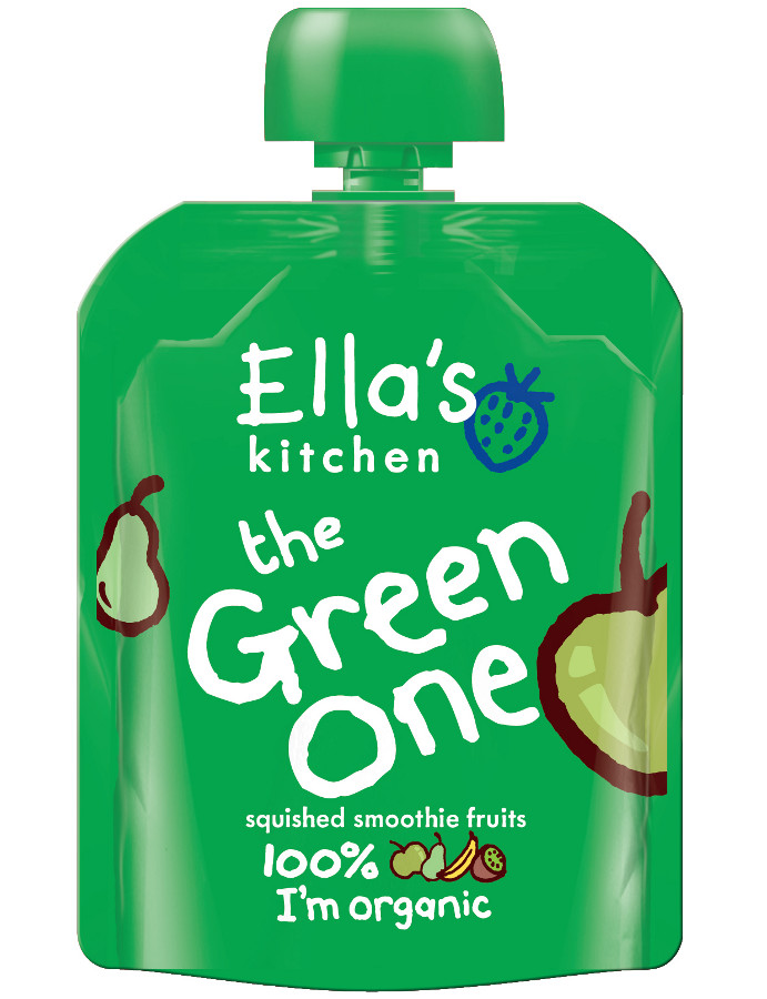 Ella Kitchen Green One Smoothie Fruit 90g