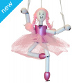 100% Recycled Ballerina Puppet Kit Complete with paintbrush, acrylic paints, PVA glue, strings & instructions. £11.95
