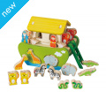FSC Noah's Ark Shape Sorter Toy Two of every animal and a beautifully crafted ark to fit them all in! Age 3+ £29.95