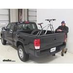 best toyota tacoma truck bed bike racks