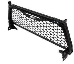 westin hlr headache rack punch plate screen black powder coated aluminum