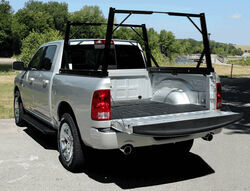 invis a rack folding ladder rack black powder coated aluminum 500 lbs