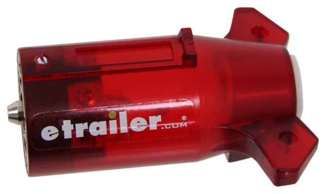 hopkins 7way rv style trailer connector with niteglow