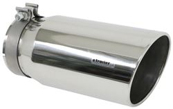magnaflow 6 exhaust tip stainless clamp on for 5 tailpipe