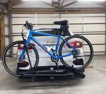 kuat transfer v2 bike rack for 2 bikes