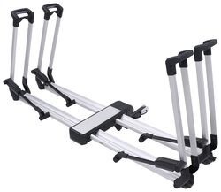 thule helium 2 bike platform rack 1 1 4 and 2 hitches tilting wheel mount