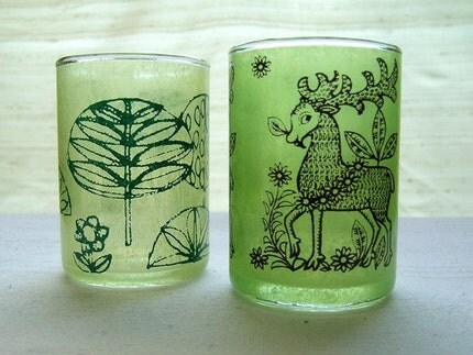 Woodlands Votive Duo