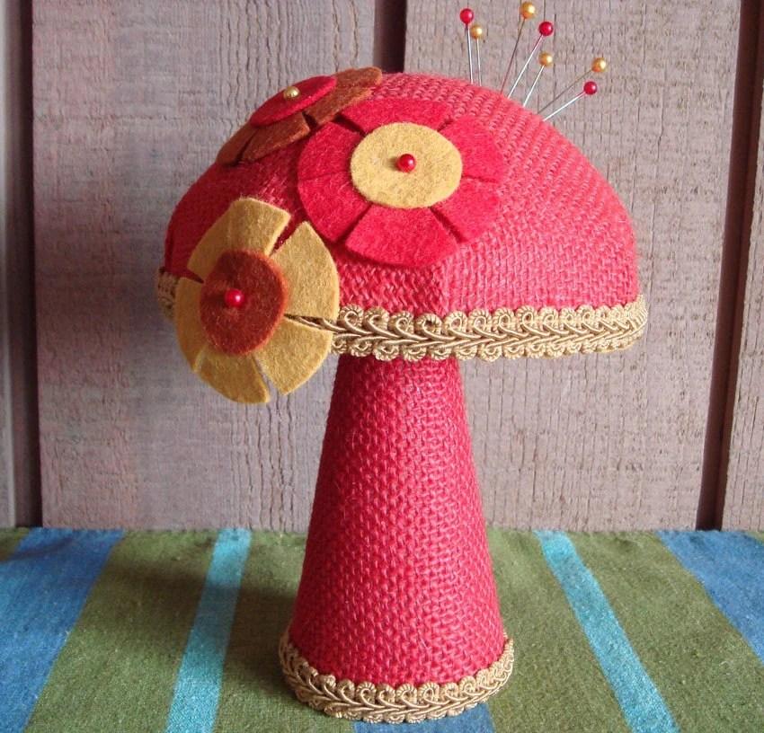 Pin Cushion Mushroom