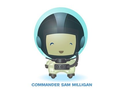 Customizable Astronaut Print