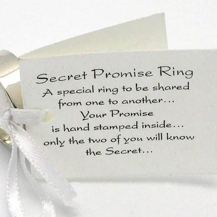 Secret Promise Ring