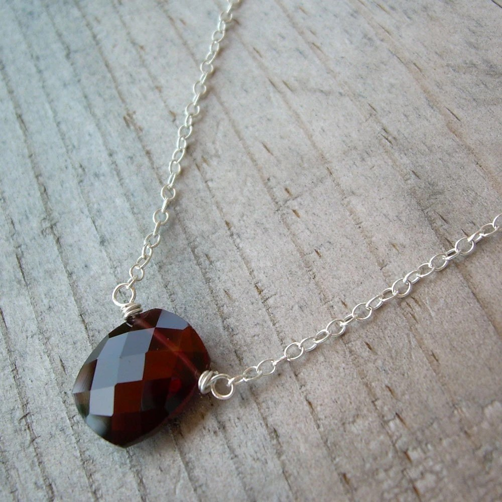 necklace garnet