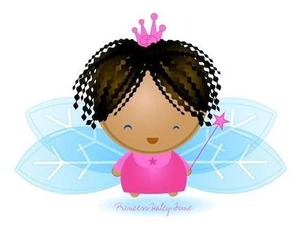 Customizable Fairy Princess Print