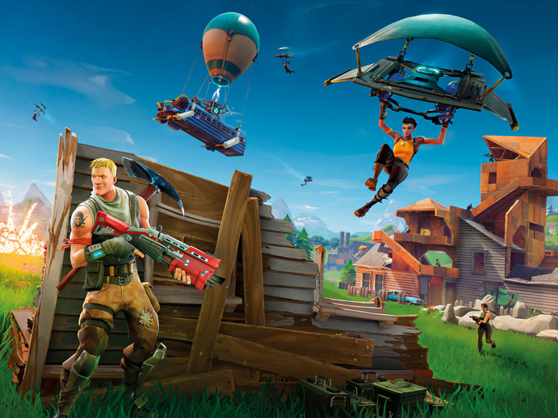 In the 2 years is $ 9BN fortnito