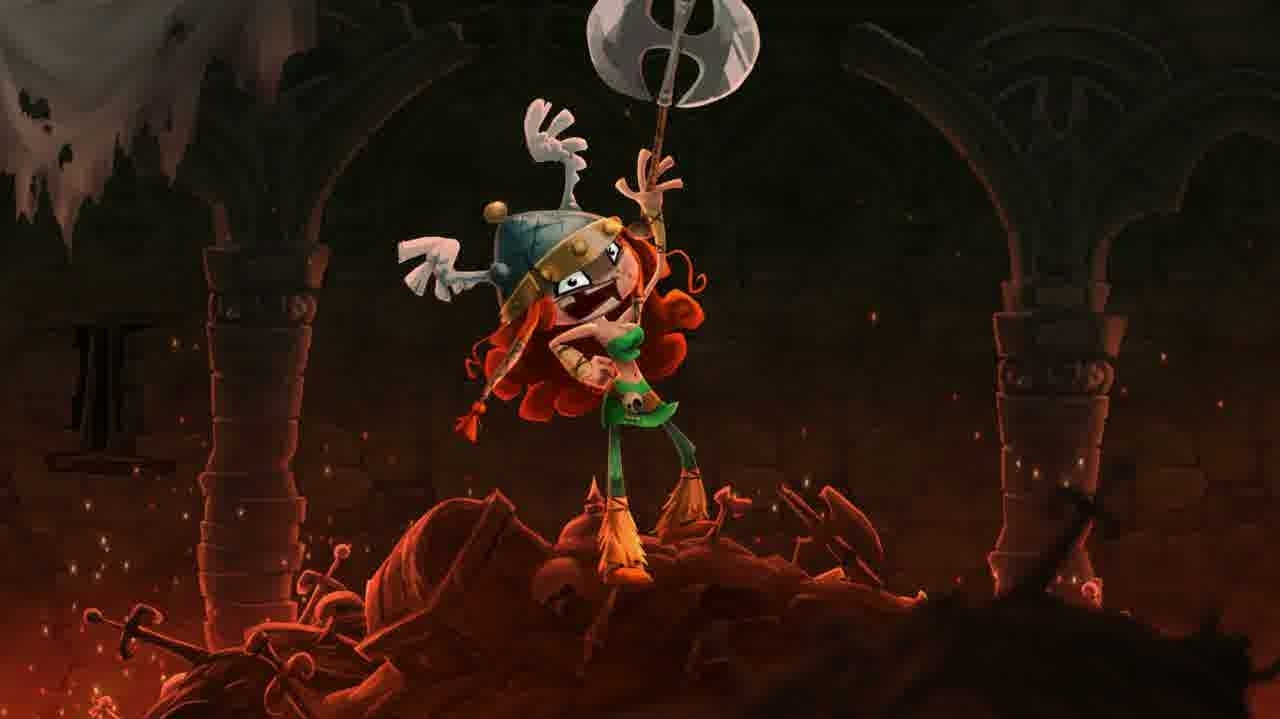 Rayman Legends Barbara The Barbarian via Eurogamer