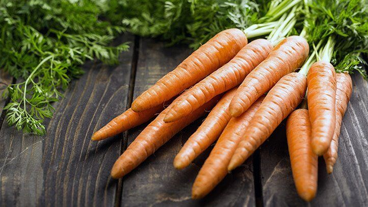 carrots which are good for people with depression