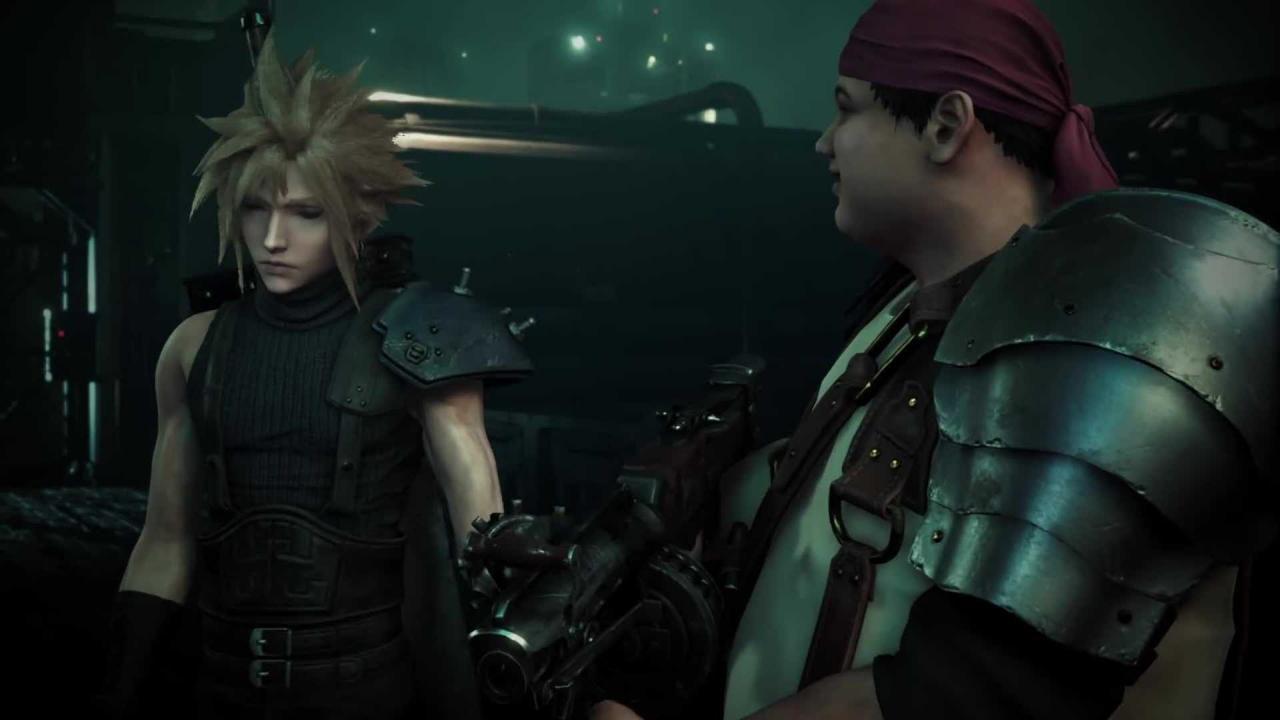 Il Voice Recording Per Kingdom Hearts 3 Final Fantasy VII