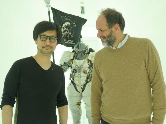 Luca Guadagnino fa visita a Hideo Kojima e si complimenta: 'Crei il cinema migliore'