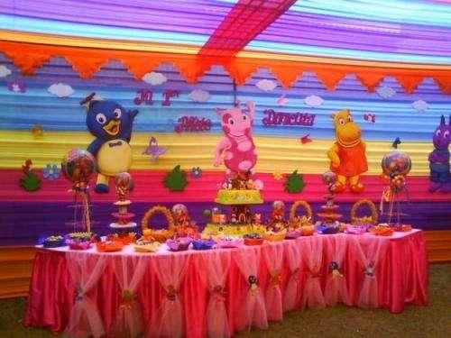Decoracion De Frozen Fiestas Infantiles Cupcakes Personalizados Lima Peru Imagen 1