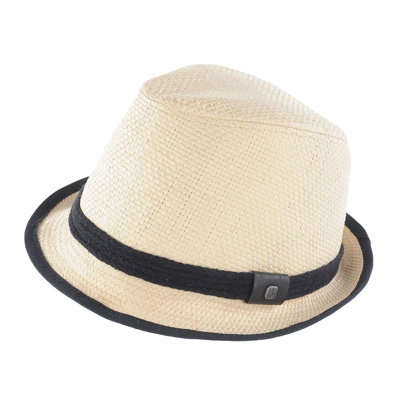 Volcom Kahli Straw Fedora Hat