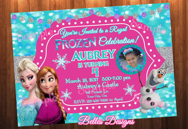 birthday invitation designs examples