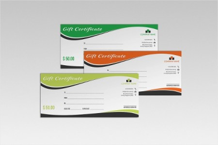 20  Modern Certificate Examples   Samples   PDF  Word  Pages Gift Certificate Example