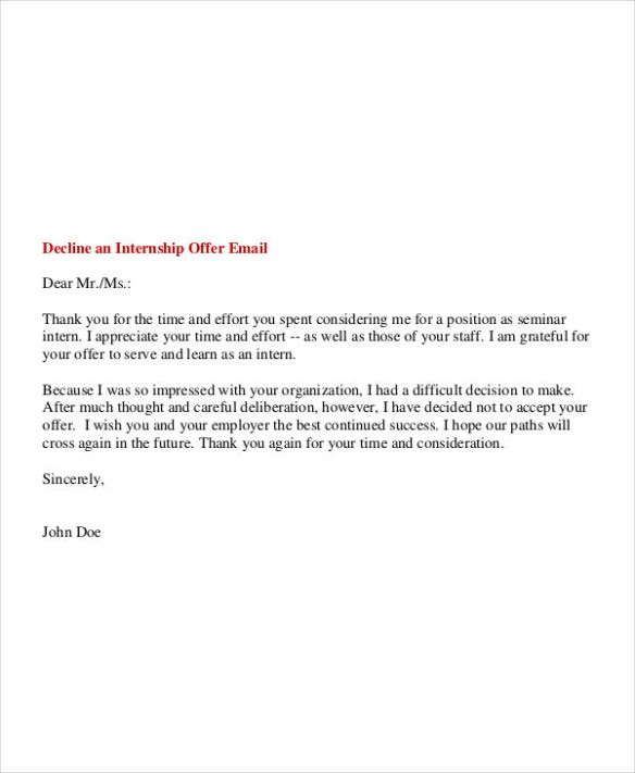 Email For Internship 11 Professional Rules To Follow To